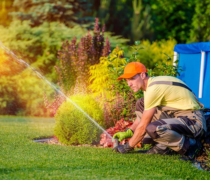 sprinkler system repair denver